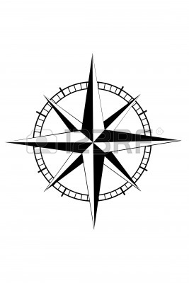 New Nautical Wheel Tattoo Sample