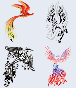 New Phoenix Tattoo Designs