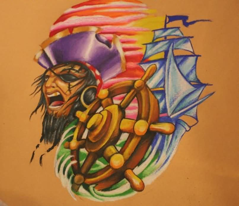 New Pirate Tattoos Flash