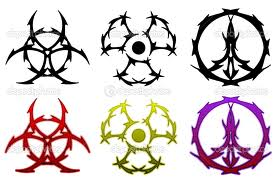 New Release Colorful Symbol Tattoo Designs