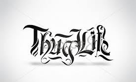 New Release Thug Life Tattoo Photo
