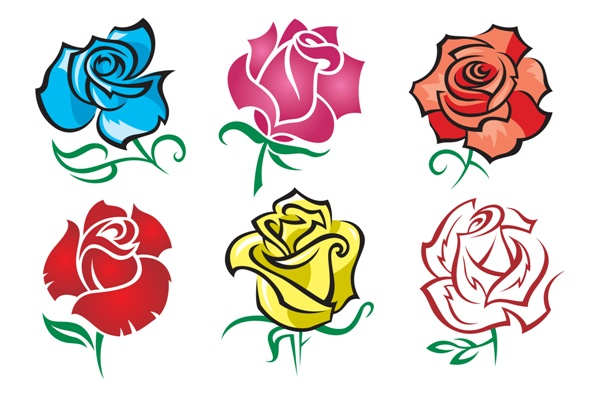 New Rose Flower Tattoos Sheet