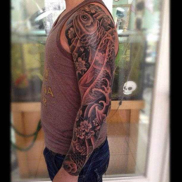 New Sleeve Of Asian Tattoos