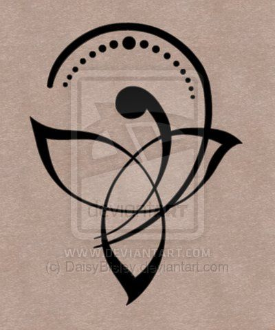 New Style Motherhood Knot Tattoo Print