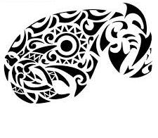 New Tribal Inner Strength Symbol Tattoo Design