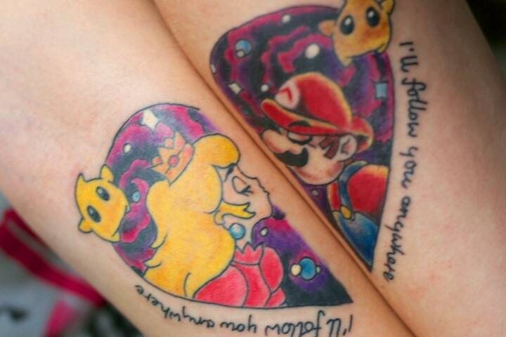 New Video Game Couple Tattoos