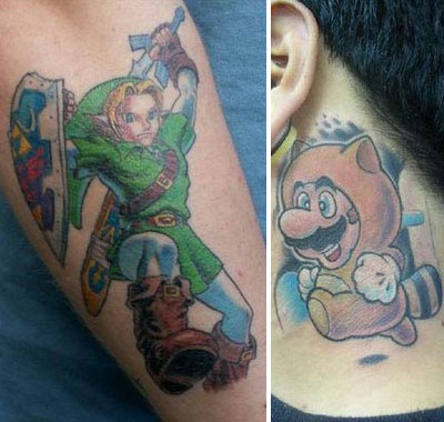 New Video Game Tattoos Pic