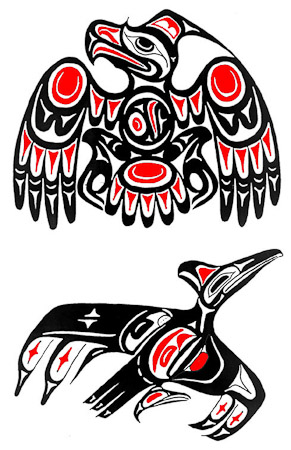 Newest Native American Eagle Tattoo Designs