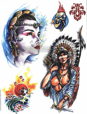 Newest Native American Tattoo Designs