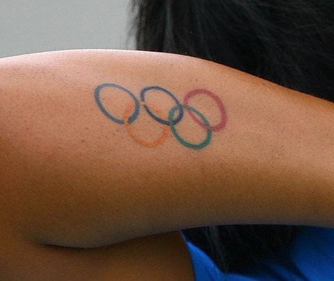 Newest Olympic Logo Tattoo