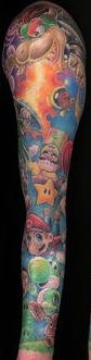 Newest Video Game Sleeve Tattoos