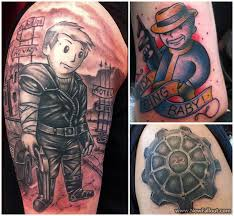 Newest Video Game Tattoos Pic