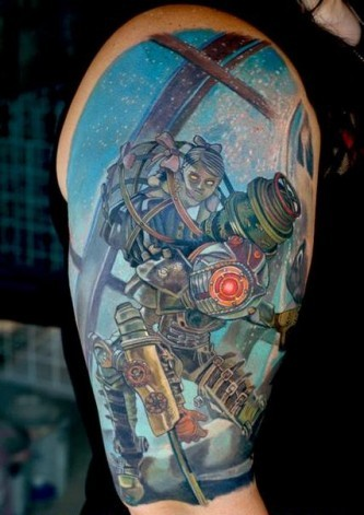 Newest Video Game Tattoos