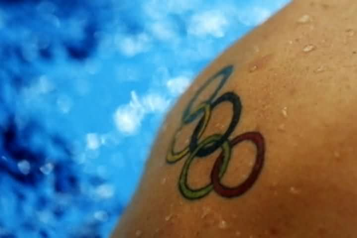 Newly Inked Olympic Tattoo