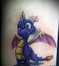 Nice Spyro Tattoo