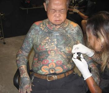 Old People Getting Tattoos