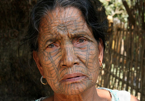 Old People With New Face Tattoos