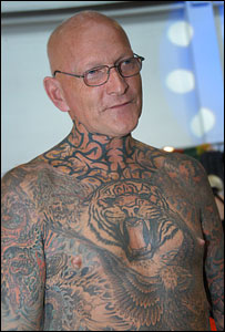 Older People's Body Tattoos