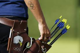 Olympic Rings Tattoos Near Wrist
