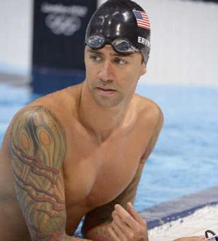 Olympic Swimmer's Tattoos