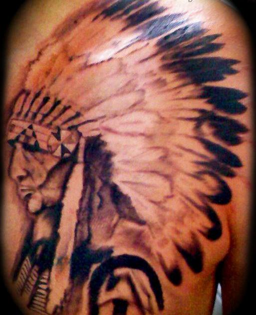 Once Again Native American Tattoo