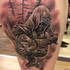 Original Assassins Creed Tattoo