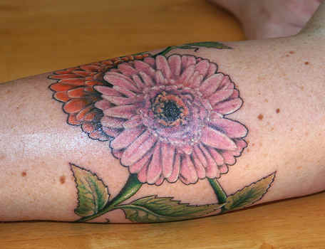 Original Daisy Flower Tattoos
