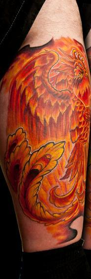 Original Fire Bird Phoenix Tattoos