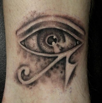 Original Human Eye Symbol Tattoo