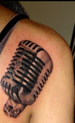 Original Mic Tattoo