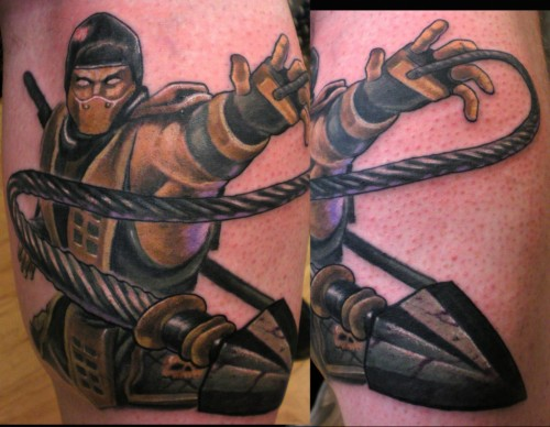 Original Mortal Kombat Tattoo