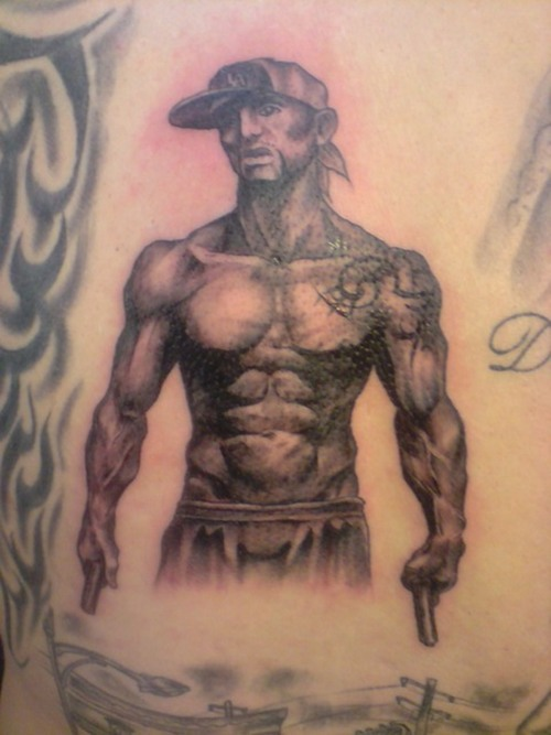Original Muscular Thug Tattoo