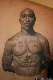 Original Tupac Shakur Tattoo