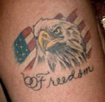 Patriotic Freedom Tattoo