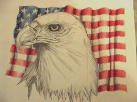 Patriotic Tattoo Sketch