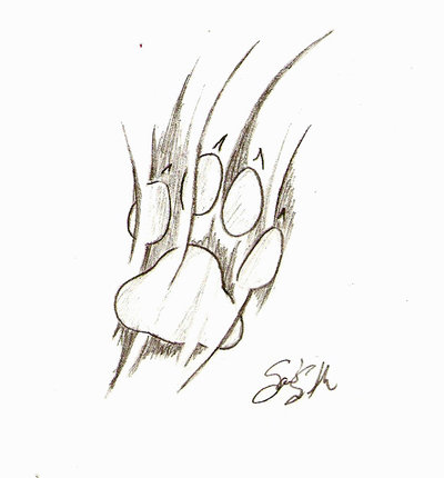 Paw Tattoo Design