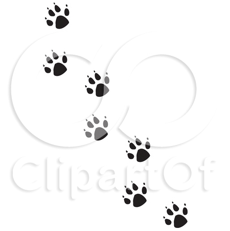 Pawprints Trail Tattoo Sample
