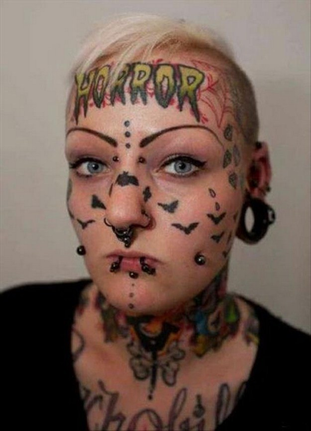People with Crazy Tattoos