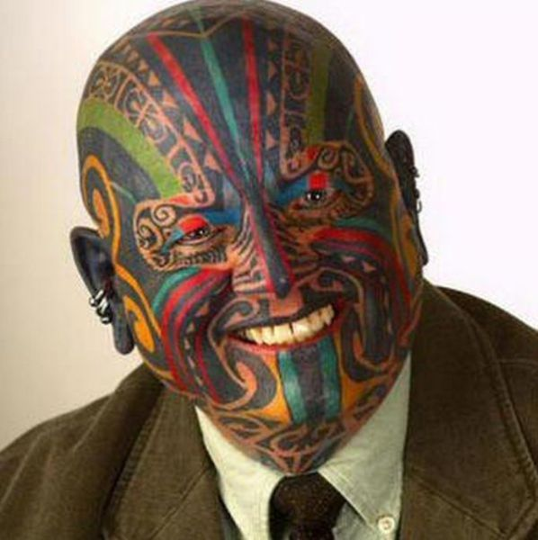People With Head Tattoos That Are Quite Creative