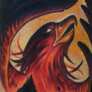 Phoenix Rising Tattoo Picture