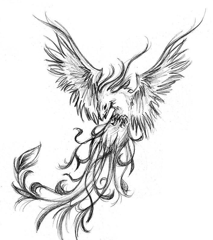 Phoenix Tattoos Designs And Ideas Page 11