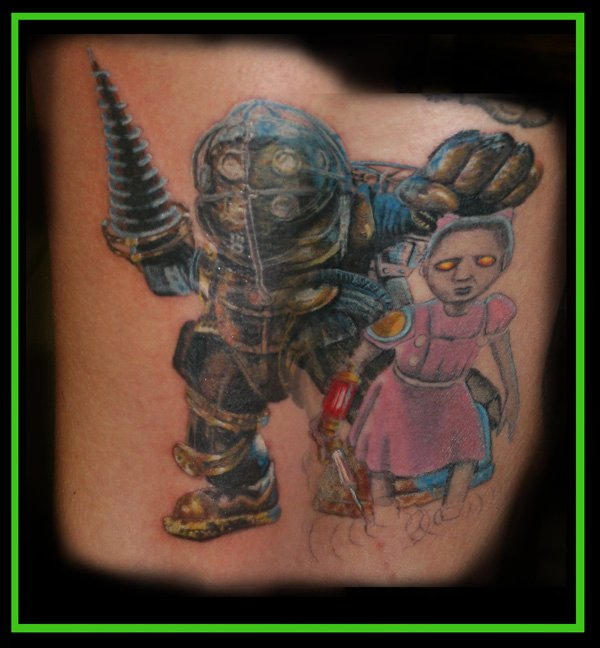 Photo Of Video Game Tattoos
