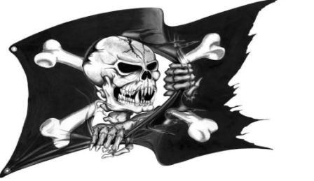 Pirate Flag Tattoo Sample