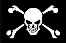 Pirate Flag Tattoo Wallpaper