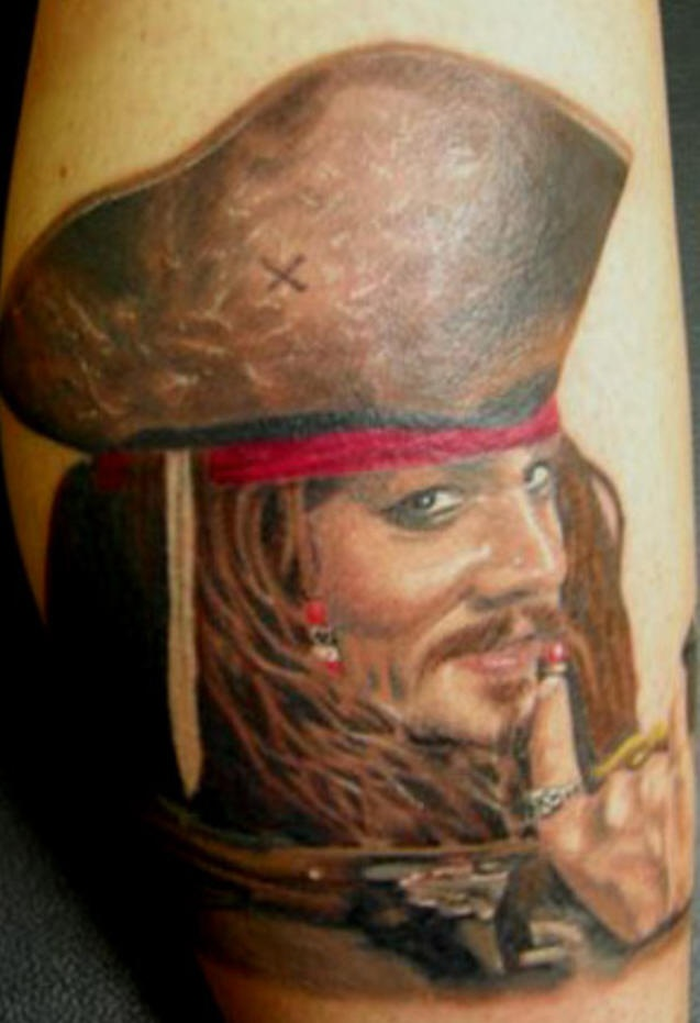 Pirate Of The Caribbean Tattoo