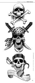 Pirate Skull Tattoos