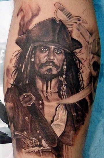 Pirate Tattoo Specially For Men