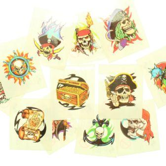 Pirate Tattoos Stickers