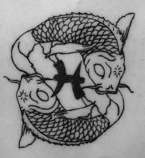 Pisces Zodiac Sign Tattoos