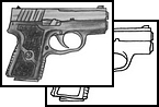Pistol Tattoo Design